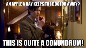 Doctor Who Memes Funny - doctor who apple meme memes quickmeme