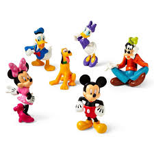 amazon disney mickey mouse clubhouse figure play 6 pc