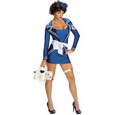 ladies betty boop sailor cartoon animated fancy dress