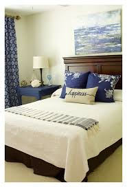 coastal inspired guest bedroom makeover 2 bees in a pod
