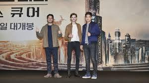 jadwal film maze runner 2 di indonesia aktor maze runner terkejut saat baca naskah film ketiga viva