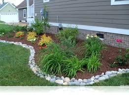 flower bed edging give color and grace to any garden but they too