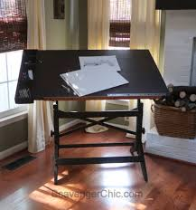 Plan Hold Drafting Table Extreme Makeover Drafting Table Edition Scavenger Chic