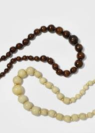 large wood bead necklace images Bead shop miss a jpg