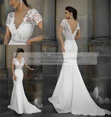 fitted wedding dresses size mermaid vintage lace wedding dresses fitted 2015 v neck