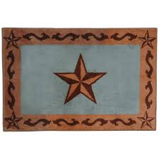 Bathroom Rugs And Accessories Southwest Rugs Turquoise Bath Rug Lone Western Decor
