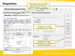 non conformance report form template corrective actions and risk management for iso 9001 2015