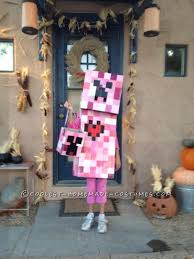 Minecraft Villager Halloween Costume 25 Creeper Costume Ideas Minecraft Costumes