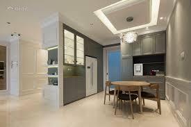 classic modern dining room kitchen condominium design ideas