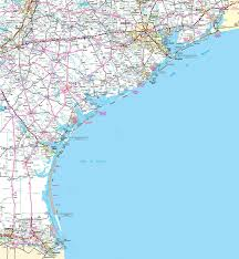 Map Of Virginia Cities Map Of Texas Coast
