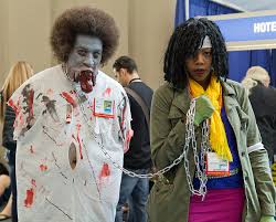 Michonne Halloween Costume Syfy Watch Episodes 23 Terrifying Cosplayers U0027ll Give