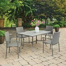 Concrete Patio Table Set Home Styles Umbria 5 Concrete Outdoor Dining Set 5680 318