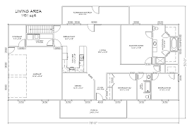 ranch style house plans with walkout basement open ranch style floor plans ranch style floor plans with walkout