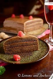 chocolate raspberry cake recipe lemons anchovies