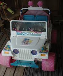 barbie jeep power wheels 90s ride m toys p candy kirby 303 857 8811 p ask me about my