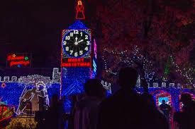 christmas tree lane lights up the season the collegian