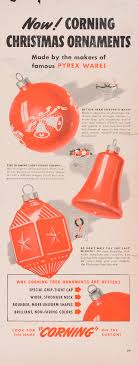 now corning ornaments made by the makers of