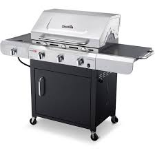 Brinkmann Dual Function Grill by Char Broil Tru Infrared 3 Burner Grill Stainless Steel Black
