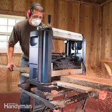 how to use a benchtop wood planer u2014 the family handyman