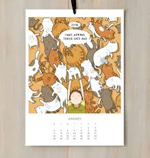 Meme Calendar 2016 - i created a cat calendar to make you smile all year round in 2016