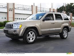 2005 jeep grand cherokee limited 4x4 in light khaki metallic