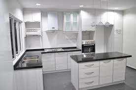 White And Black Kitchen Designs Kitchen Cabinet With Island Design Brucall Com