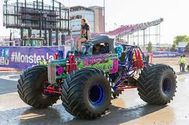 new monster truck keeping up with the country s youngest female monster truck driver