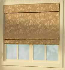 Printed Fabric Roman Shades - shade styles for soft fabric roman shades