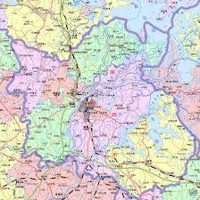 China Province Map Nanchang Map 1375x1383 1m Map China Map Shenzhen Map World Map
