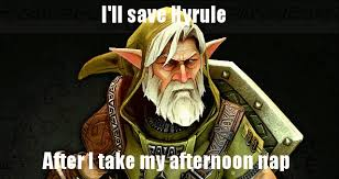 Link Meme - old man link meme by rabnadskubla on deviantart
