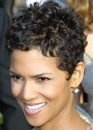 short curly hairstyles above the ear very short hairstyles for curly hair halle berry styles