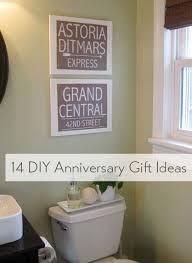 anniversary gift ideas wedding week iii 14 diy anniversary gift ideas house