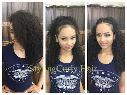 different styles or ways to fix human hair 6 quick and simple ways to style curly hair sayria jade youtube