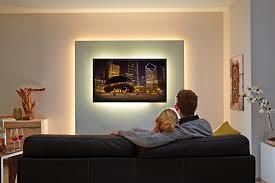 Wohnzimmerschrank Beleuchtung Wohnräume Verwandeln Mit Led Stripes Und Lichtleisten Von Paulmann