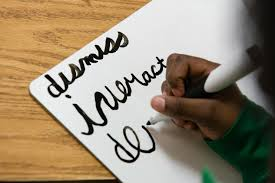 once all but left for dead is cursive handwriting making a