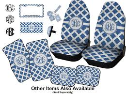 Diamond Car Seat Covers Set Of Two Personalized Baby N Toddler