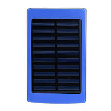 Diy Solar Phone Charger 20000mah Solar Power Bank External 2 Usb Battery Charger Led