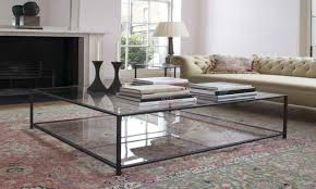 Glass Side Tables For Living Room 30 Ideas Of Large Square Glass Coffee Tables
