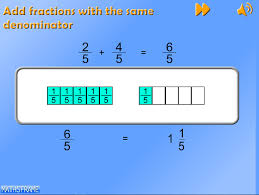 add and subtract fractions with the same denominator and related