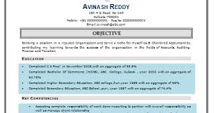 Fresher Accountant Resume Sample by Over 10000 Cv And Resume Samples With Free Download Good