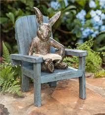 rabbit garden reading rabbit garden statue garden statues