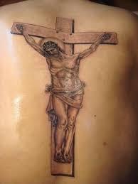 Jesus Cross Tattoos On - jesus on cross on arm
