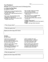 tone worksheet 4 6th 9th grade worksheet lesson planet