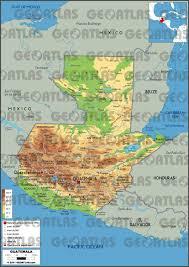Guatemala World Map by Geoatlas Countries Guatemala Map City Illustrator Fully