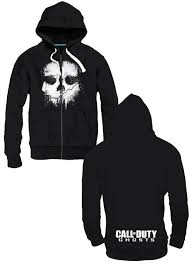 ghost clothing buy clothing call of duty ghosts hooded sweater logo size m