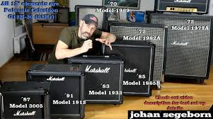 10 Guitar Speaker Cabinet 7 Marshall Speaker Cabinet Comparison Shootout Youtube