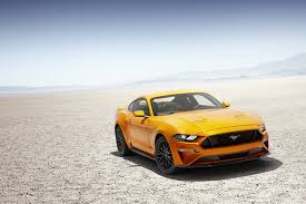 for 2018 ford turns the mustang into a meaner more high tech horse