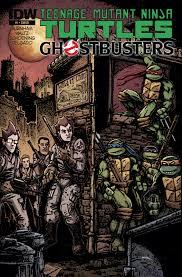 teenage mutant ninja turtles teenage mutant ninja turtles ghostbusters 1 u2013 idw publishing
