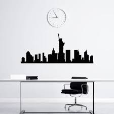 best new york skyline wall decal products on wanelo