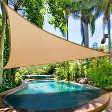 Sail Canopy For Patio Clevr Outdoor Patio Uv Sun Shade Sail Canopy Cover Various Colors